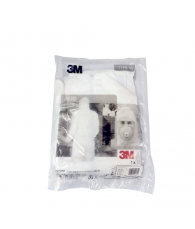 ชุดป้องกันสารเคมี 3M 4510 PPE Coverall คุณภาพได้มาตรฐาน ปลอดภัยจากฝุ่นละออง และสารเคมีเจือจาง
